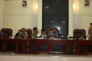 Rapat Paripurna DPRD Kota Manado