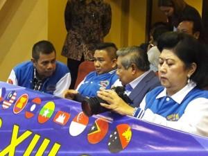 Jacko dan SBY bersama istri di Gelanggang Mahaka Square Kepala Gading
