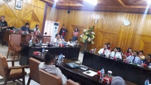 Hearing Komisi I bersama Partner/Nasabah Net Invest