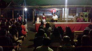 Jems Tuuk kunjungi mastayakat Desa Sinsingon Kecamatan Passi Timur, Kabupaten Bolaang Mongondow (Bolmong) yang juga konstituennya.