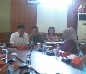 rapat Badan Musyawarah (BANMUS), Kamis (10/03/2016), di ruang rapat dua Kantor DPRD
