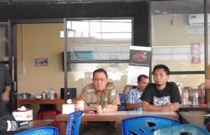 Jumpa Pers Pejabat Walikota Roy Roring dengan wartawan post liputan pemerintah Kota Manado (04/04/16)