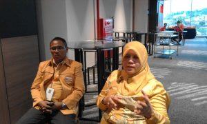 Tien Aspazier Ketua DPP Bidang Keanggotaan Saat ditemui di Hotel Ibis Manado 23/04/16