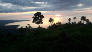 Melihat Indahnya Sunset disore hari