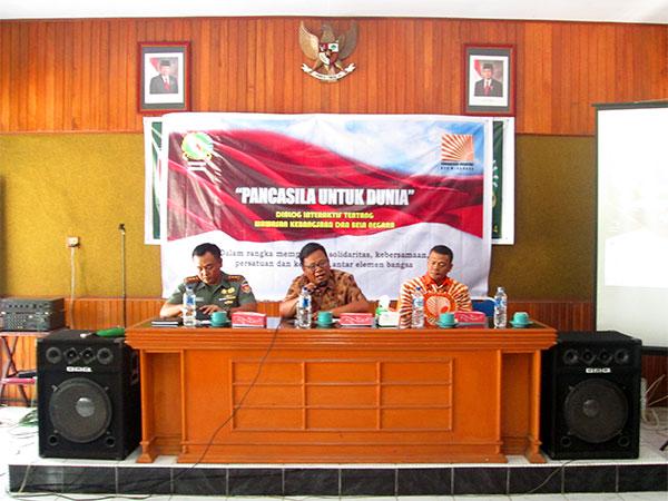 3 Pembicara Dialog Interaktif Wawasan Kebangsaan Dan Bela Negara