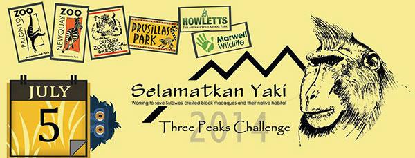 3 peaks challenge logo selamatkanyaki