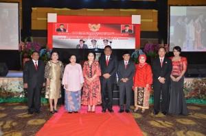 Acara serah terima jabatan disertai pisah sambut Gubernur Sulut
