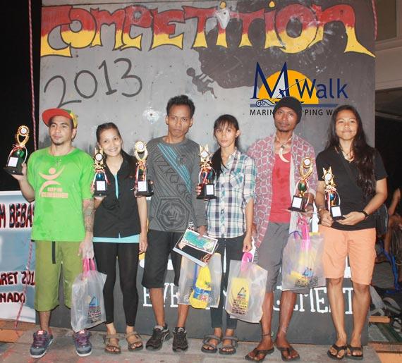 Aksi Para Peserta Fun Climbing Competition Memukau Ribuan Pengunjung MWalk