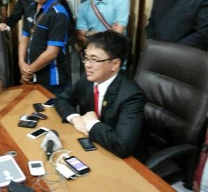 Andrei Angouw Ketua DPRD Sulut