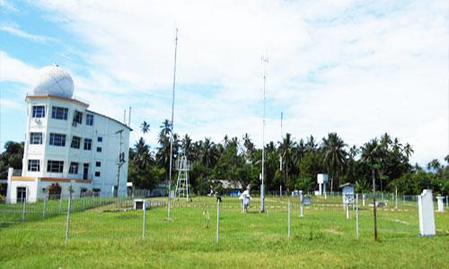 Laboratorium lapangan Stasiun Klimatologi Kayuwatu Manado