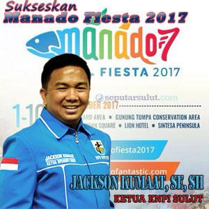 Sukseskan Manado Fiesta 2017