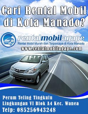 Banner Rental Mobil Manado