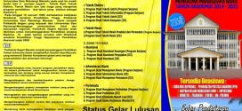 Pendaftaran Mahasiswa Baru Politeknik Negeri Manado