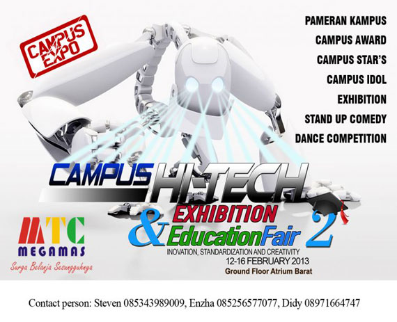 Campus Hi-Tech Exhibition and Education Fair 2
