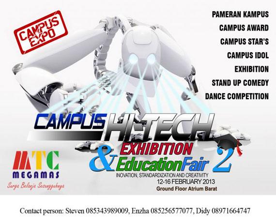 Campus Hi-Tech Exhibition and Education Fair 2