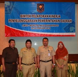 Rapat Pelaporan Kinerja Penyelenggaran Pemerintahan Daerah
