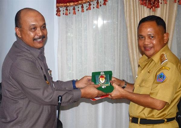 Wakil Gubernur Sulut Djouhari Kansil Menerima Kunjungan Tim Setjen Wantanas