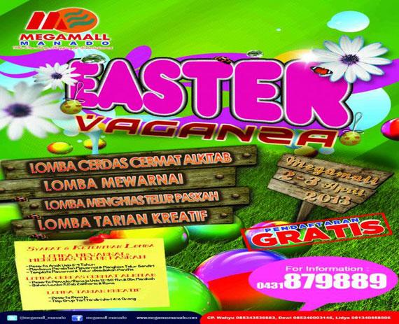 Eastervaganza 2013 di Megamall Manado