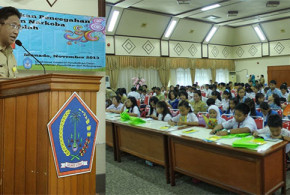 Edwin Silangen Ajak Pelajar Sulut Perangi Narkoba dan AIDS