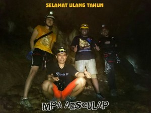 MPA Aesculap Melakukan Ekspedisi Gua Desa Rainis Kecamatan Rainis Kabupaten Kepulauan Taluad