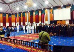 Suasana Pelantikan Pejabat Eselon III dan IV Pemkot Manado