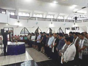 Panitia FSPG 2017 di wilayah Ratahan resmi dilantik