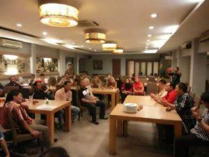 JS saat memimpin rapat tim pemenangan Badja di Jakarta