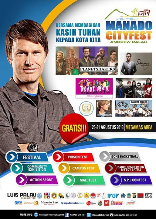 Format Event Manado CityFest