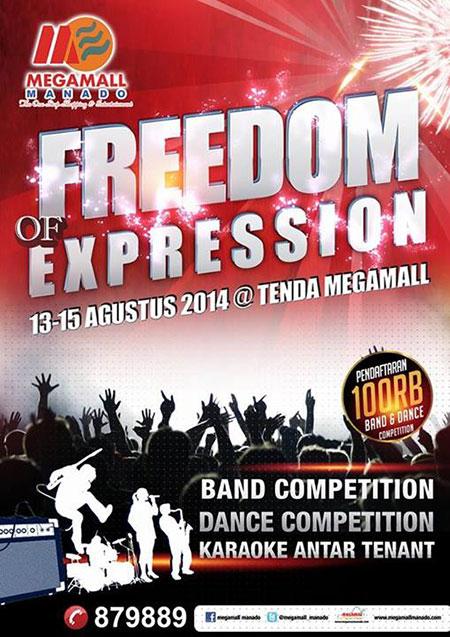 Freedom of Expression di Megamall Manado