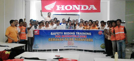 Gafatar Adakan Safety Riding Training Dengan Honda