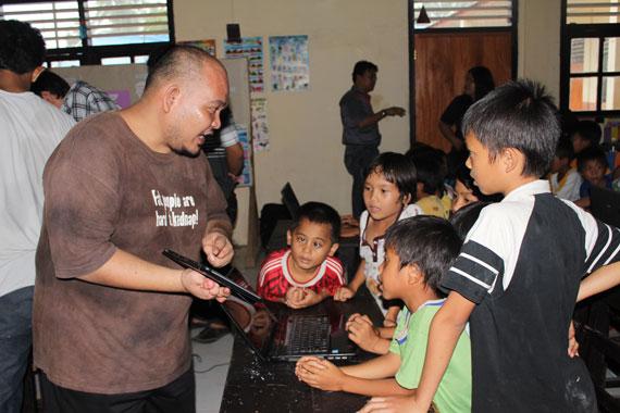 Glen - Relawan TIK Sulawesi Utara