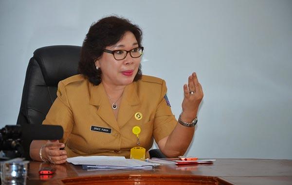 Grace Punuh, Kepala Dinas Kesehatan Sulawesi Utara