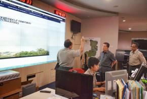 Gubernur Berkunjung ke Badan Nasional Penanggulangan Bencana