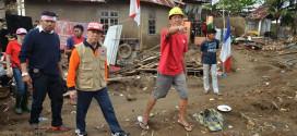 Gubernur Sinyo Sarundajang Terjun Langsung Memimpin Gerakan Manado Bangkit