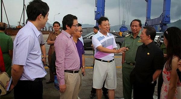 Gubernur Bersama Dubes dan Pengusaha China Tinjau Lokasi KEK