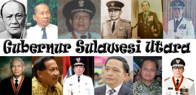 Daftar Gubernur Sulawesi Utara - Gubernur Sulut