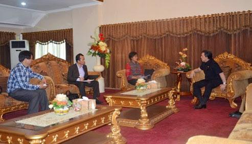 Gubernur Sulut Menerima Kunjungan Konjen RI Untuk Cina