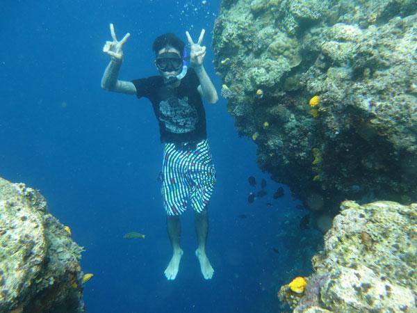 Guide Manado Fun Trip di Pulau Bunaken
