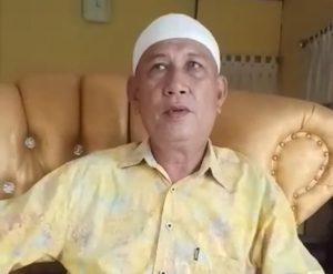 Ketua MUI (Majelis Ulama Indonesia) Kabupaten Minahasa Selatan, Propinsi Sulawesi Utara, Hi. Ishak Ahmad,