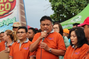 Sambutan Gubernur Sulawesi Utara Olly Dondokambey