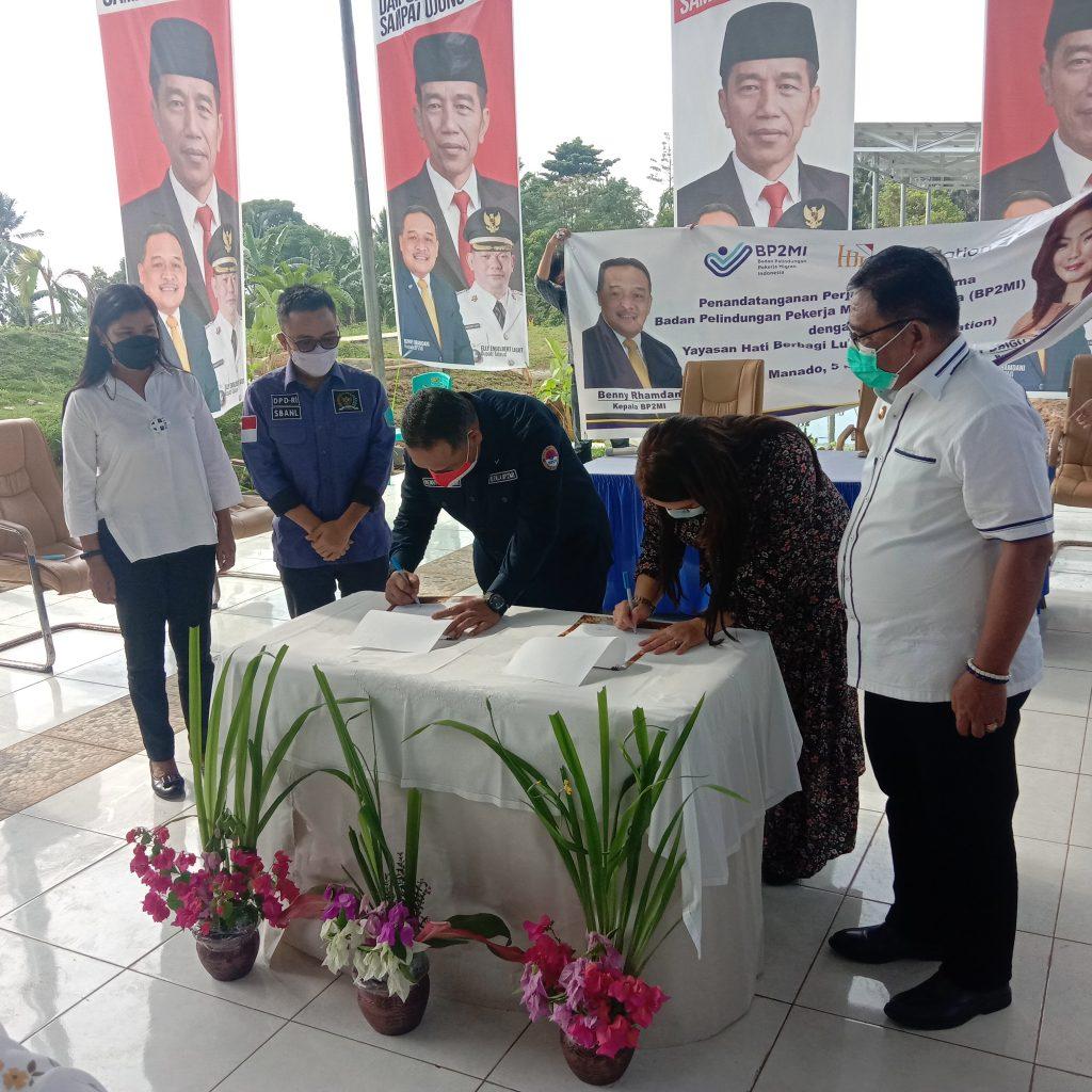Kepala BP2MI Benny Ramdhani Teken MoU Dengan HBL Foundation