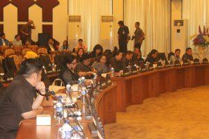 anggota DPRD Sulut yang hadir.