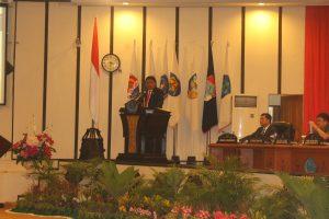 Sambutan Gubernur Sulut Olly Dondokambey