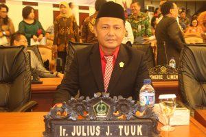 Anggota DPRD Sulut, Jems Tuuk