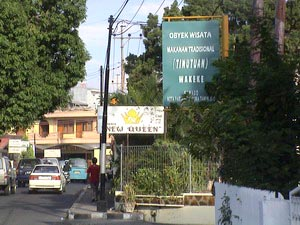 Jalan Wakeke, Lokasi Wisata Kuliner di Manado Yang Menjual Bubur Manado