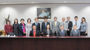 Japan Foto bersama dengan Tohoku Pharmacentical University