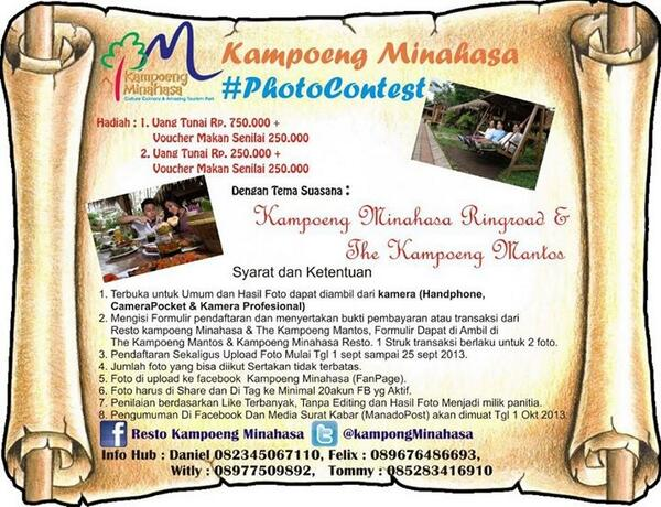 Kampoeng Minahasa Photocontest