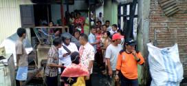 Kebakaran di Kelurahan Istiqlal Kampung Arab Manado