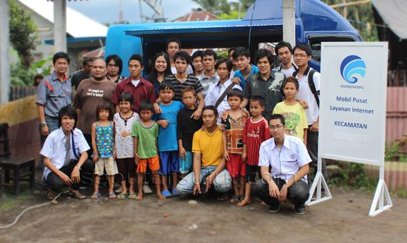 Kegiatan Pertama Relawan TIK Sulawesi Utara