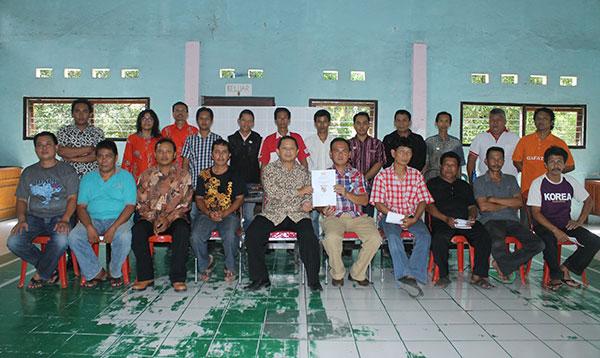 Kergiatan Gafatar di Kolongan Kerjasama Gafatar Manado dan Gafatar Minahasa Utara